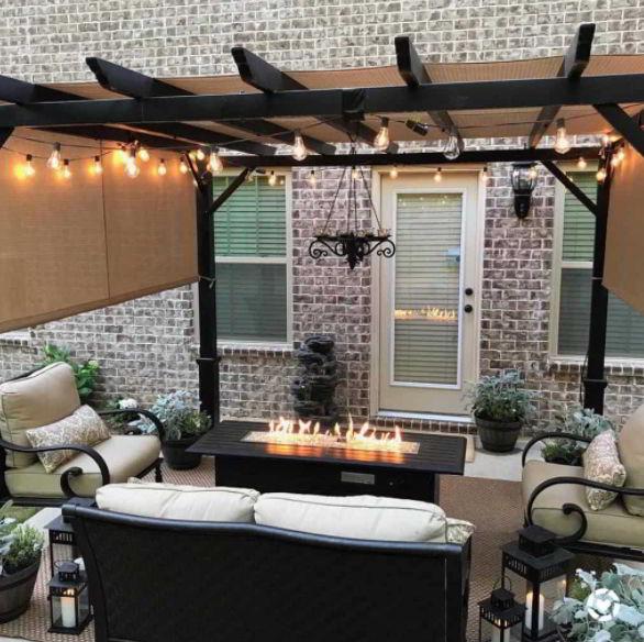 pergola patio awning ideas