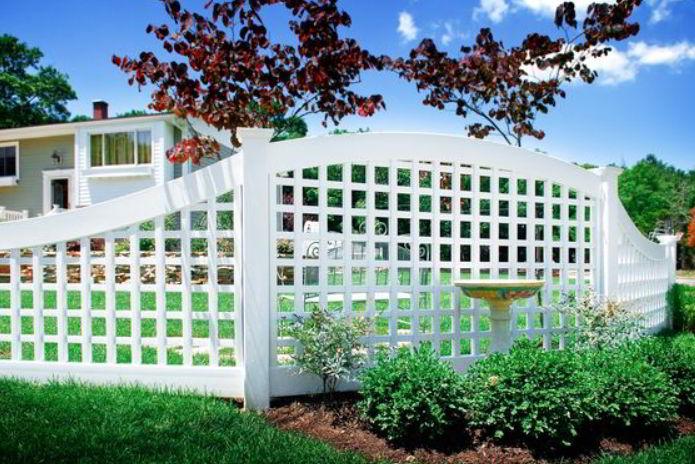 Arbor Fence Design