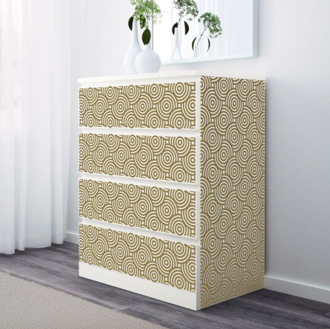 IKEA MALM Hack Using Decals