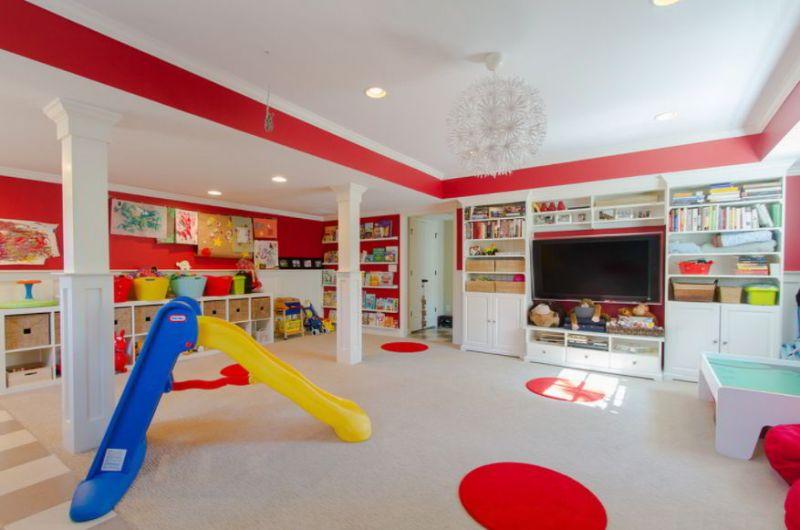 Kid's Playroom Designs
