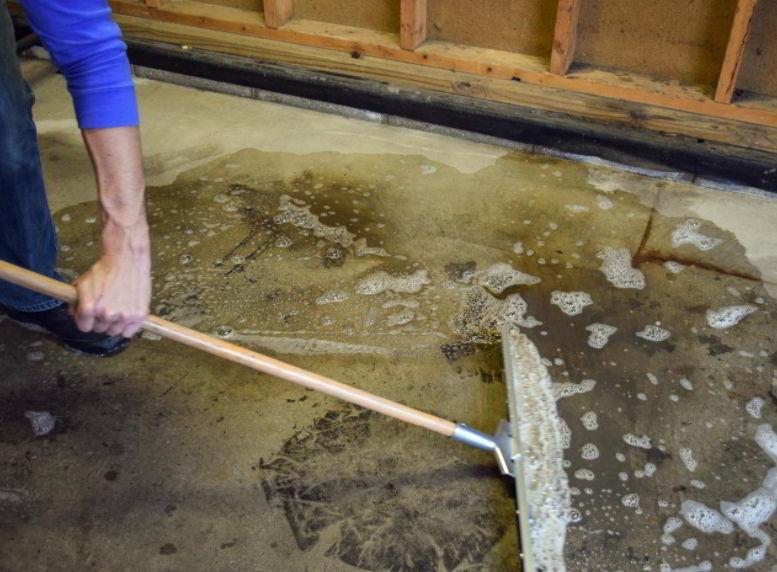epoxy floor polish