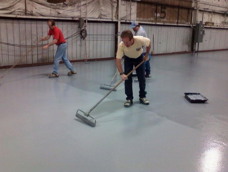 how to clean epoxy resin floor