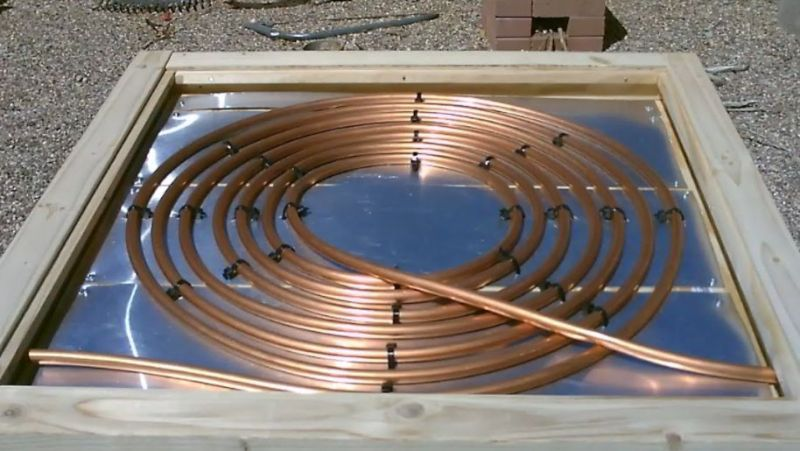 Copper Coil for pool heater