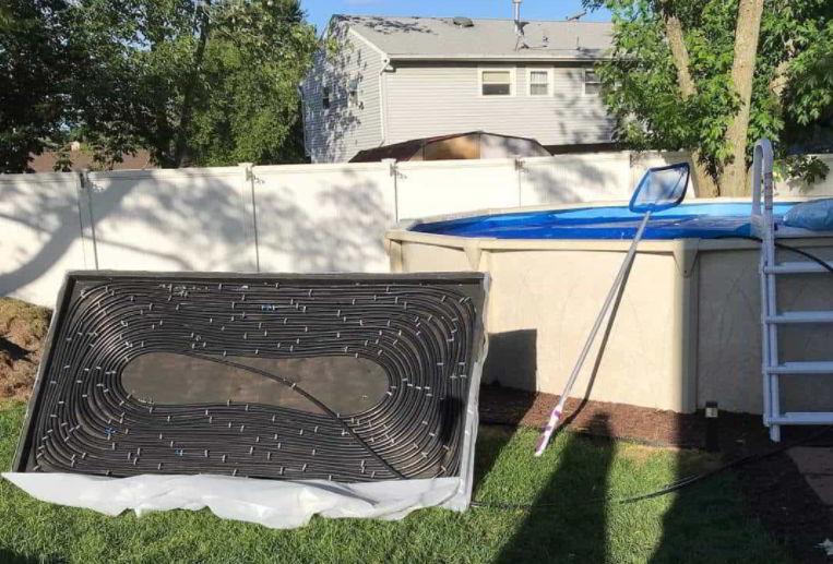 Easy DIY Solar Pool Cover