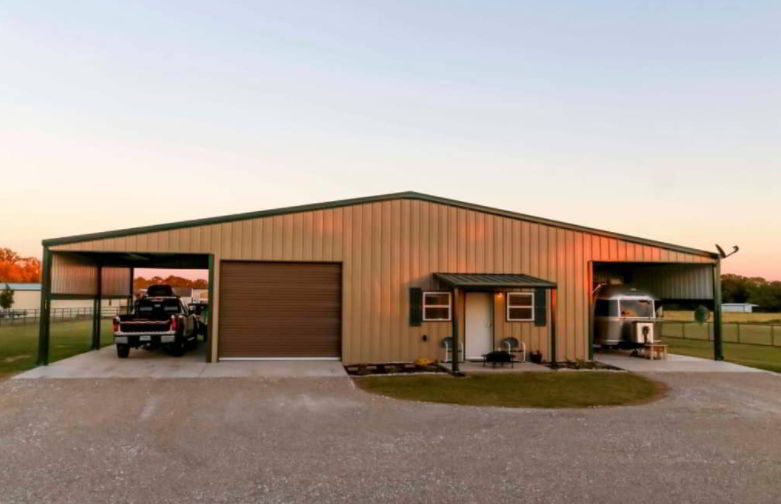 Metal buildings are more flexible and easily expandable