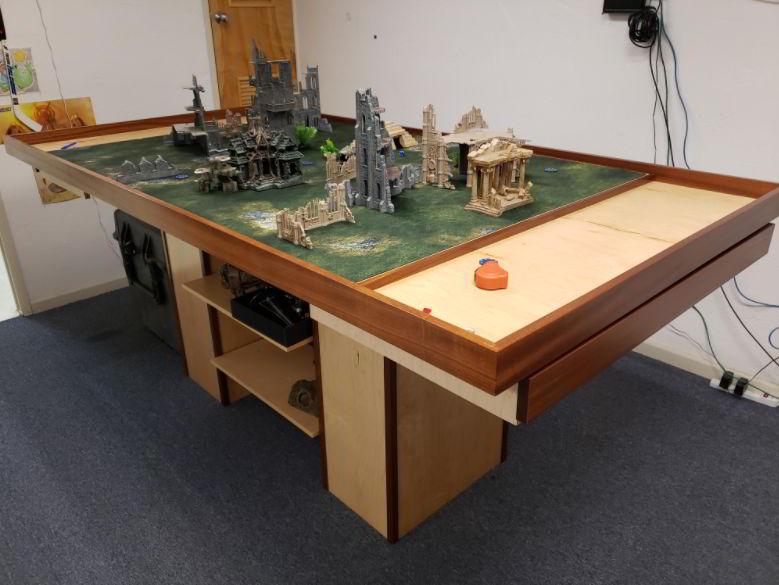 wargaming table designs