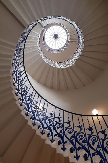 Tulip Stairs, Queen's House, UK