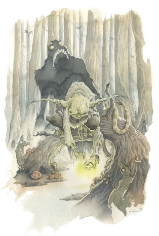 ITCHY TRIGGER FINGER gris grimly yoda star wars