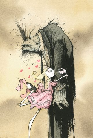 ZOMBIE AFFECTION little girl gris grimly