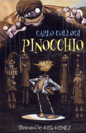 Pinocchio Carlo Collodi gris grimly guillermo del toro stop motion
