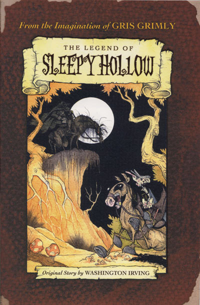 Sleepy Hollow Washington Irving gris grimly halloween ghost stories