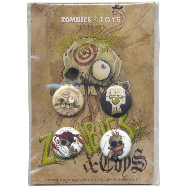 STORE CURIOS ZOMBIEBUTTONS