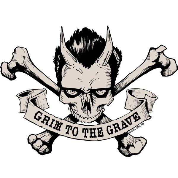 STORE CURIOS GRIM2GRAVESTICKER