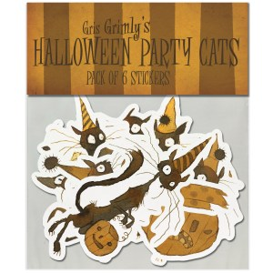Halloweenpartycats Mockup