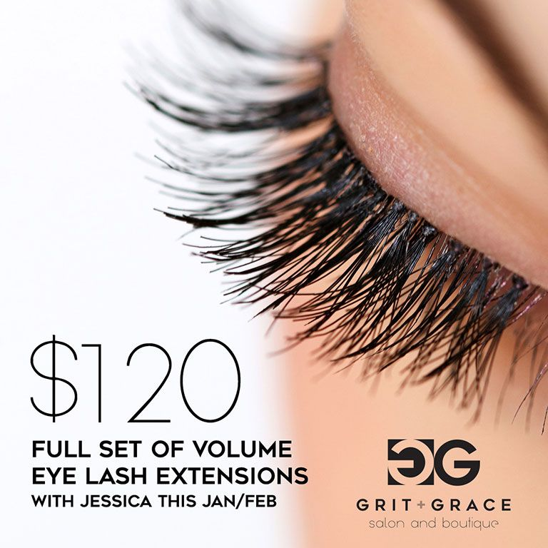 Volume Eye Lash Extensions