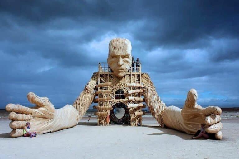 Parque de Esculturas Gigantes en Tulum