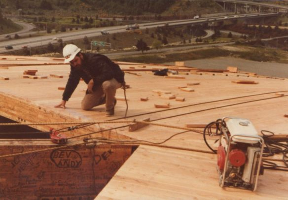 Tacoma Dome construction_12