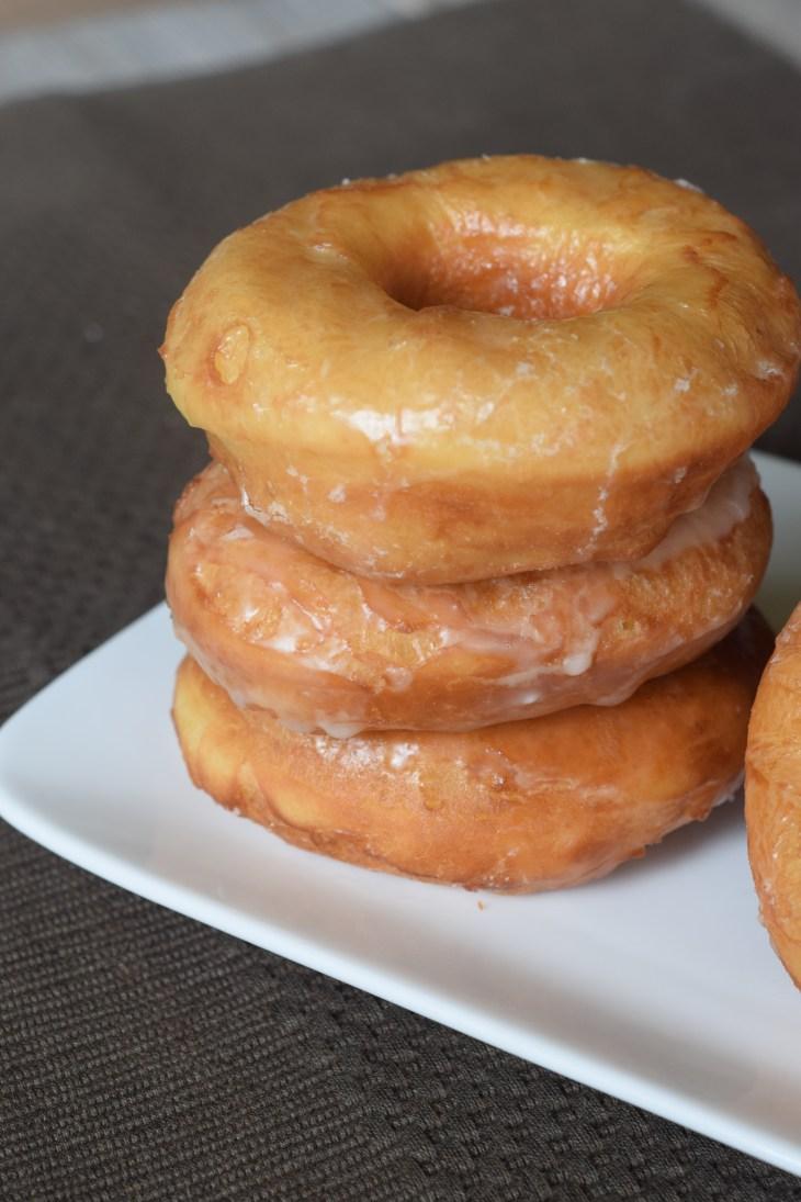 Copycat Krispy Kreme Donuts stack