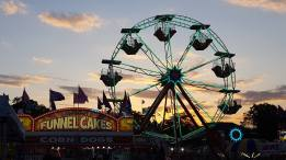 Ferris Wheel and Funnel Cakes