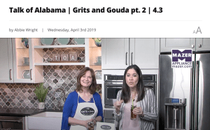 Talk of Alabama Segement 2 April 3 2019 on Cooking with Fresh Herbs with Kathleen Phillips from GritsAndGouda.com