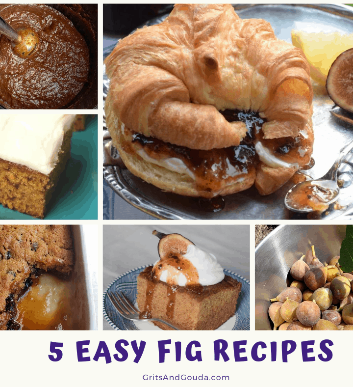 Pinterest Image 5 Easy Fig Recipes