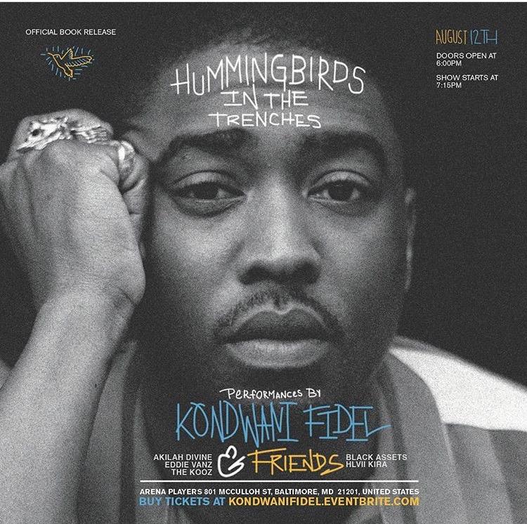 Baltimore artist Kondwani Fidel | Gritty Vibes Magazine