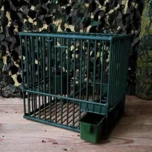 cage grive plastique petite