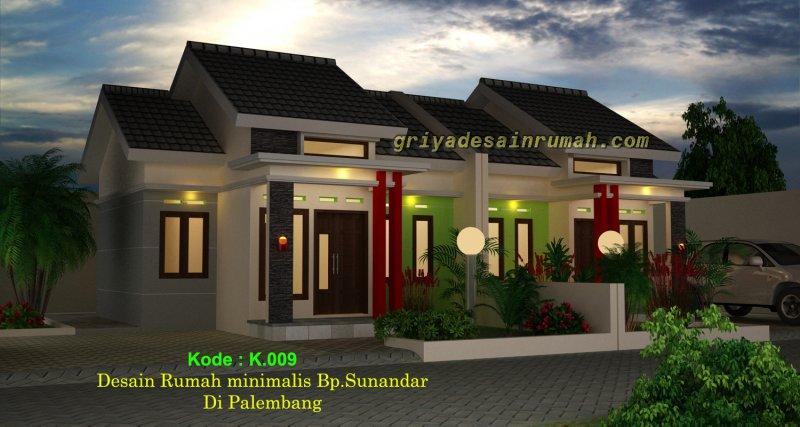 Desain Rumah Minimalis Modern 1 Lantai Di Palembang Jasa Desain Rumah