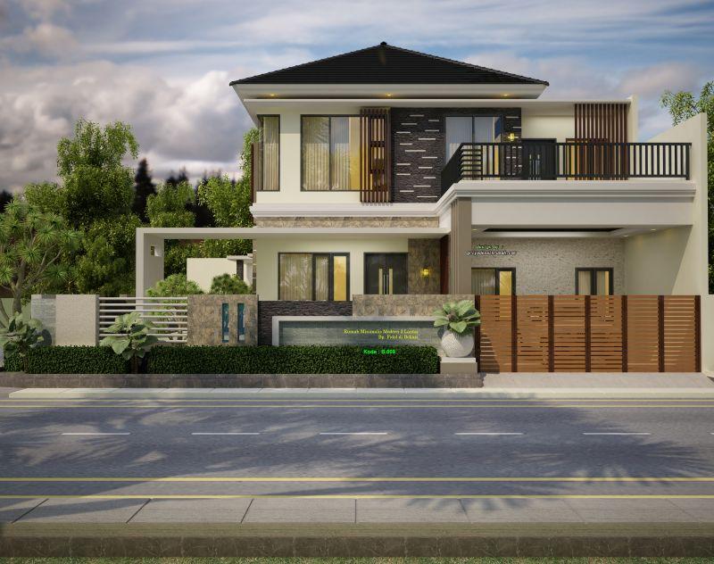 Gambar Rumah Mewah 2 Lantai 11 X 12 Meter Hook Jasa Desain Rumah