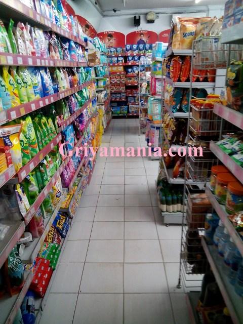 interior minimarket