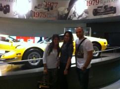 With Mahmoud and Daniella