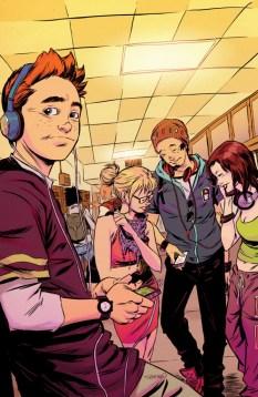 Archie #1 Variant by Sanford Greene