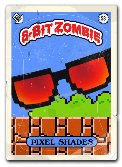 8 bit zombie sold out shades