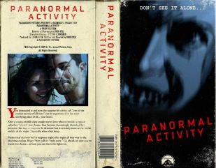 new movies vhs covers Chris MacGibbon 1