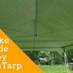 How To Make A Shade Canopy With A Tarp Grizzly Tarps Blog