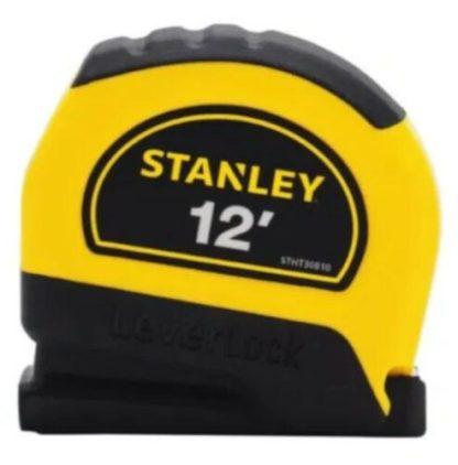 Stanley 12′ Tape Measure ruler LeverLock Stht30810
