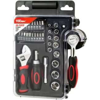 HyperTough 38 PC Stubby Wrench Tool Set