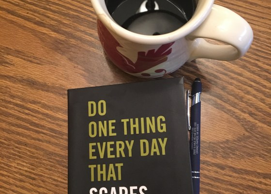 One thing that scares you book