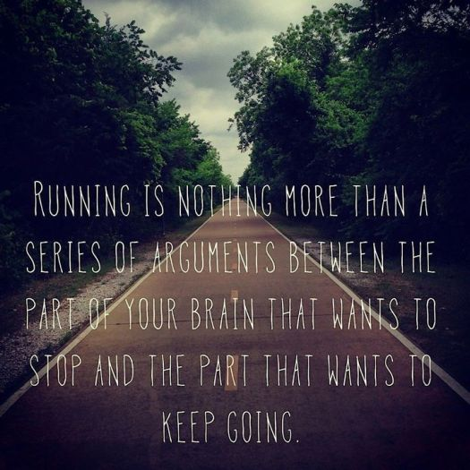 running is a series of events