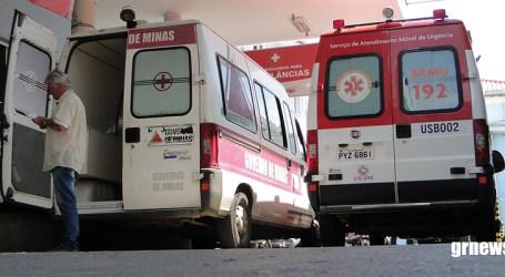 Homem cai de cavalo em Meireles e vai parar no Hospital Nossa Senhora da Conceição