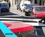 Motociclista fica ferido após colisão entre moto e carro na Professor Melo Cançado