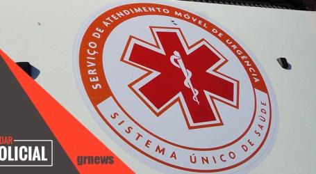Rapaz fica ferido após colisão entre duas motos na Presidente Vargas