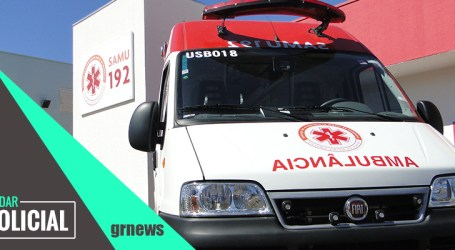 Idosa fica ferida em acidente entre carro e caminhão em Pitangui