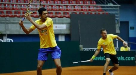 Equipe do Brasil está completa para confronto da Copa Davis