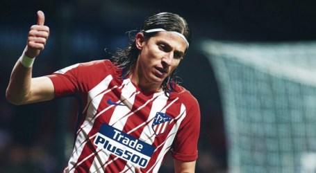 Filipe Luís revela desejo de encerrar carreira no Atlético de Madrid