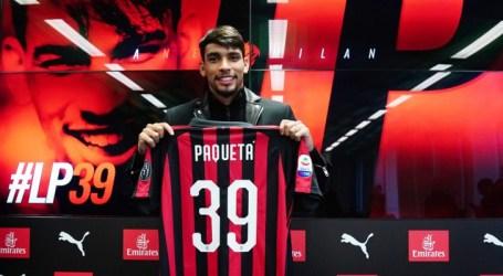 Lucas Paquetá é apresentado no Milan