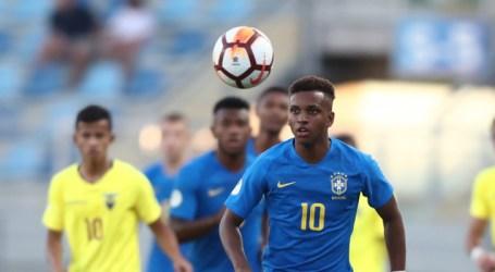 Brasil e Equador empatam pelo Sul-Americano Sub-20