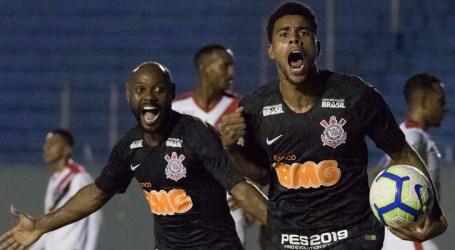 Corinthians empara com o Ferroviário-CE e avança na Copa do Brasil