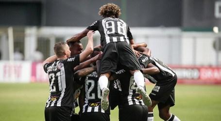 Galo vence e embala para estreia na Libertadores