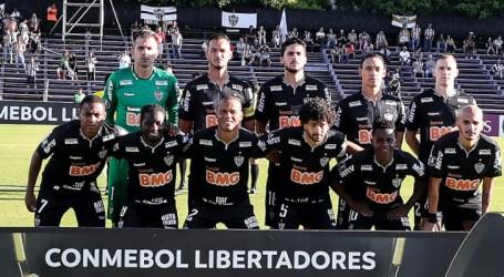 Galo estreia na Libertadores com empate no Uruguai